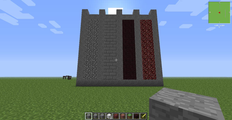 Wall Design Minecraft : Minecraft wall designs adversity social gamers